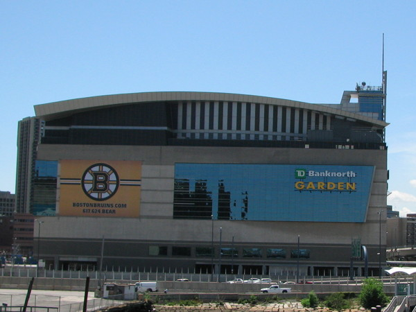 MyCityRocks visit to the  TD Garden in Boston, Massachusetts