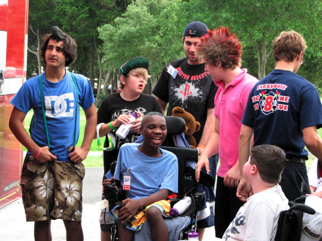 MDA Camp For All 2009