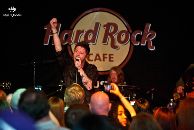 MyCityRocks 5 Year Anniversary Party Featuring Saving Abel - April 18, 2010