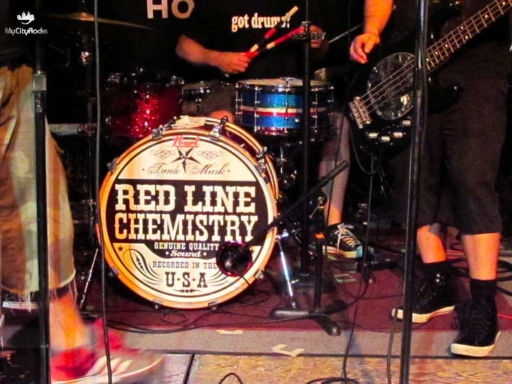 Benefit for Red Cross Relief Efforts in Japan, with Red Line Chemistry - Hard Rock Cafe Houston, TX - April 10, 2011