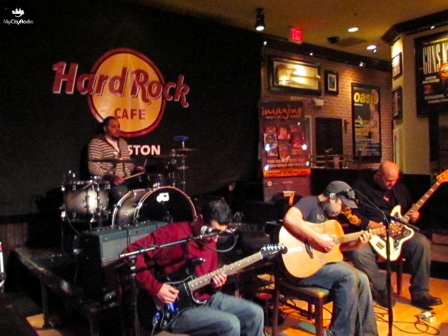 Deep Ella at Hard Rock Cafe World Hunger Year WHY Benefit - Houston, TX - November 18, 2011